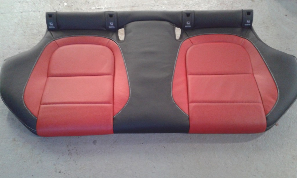 rear seats after